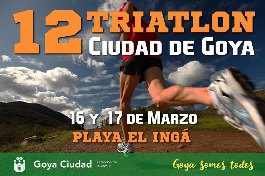 12° Triatlón Ciudad de Goya